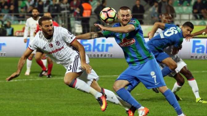 Beşiktaş durdu, durdu 93'te vurdu