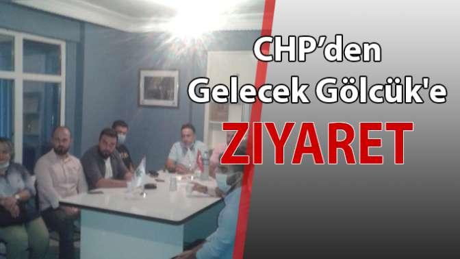 CHP'den Gelecek Gölcük'e ziyaret!