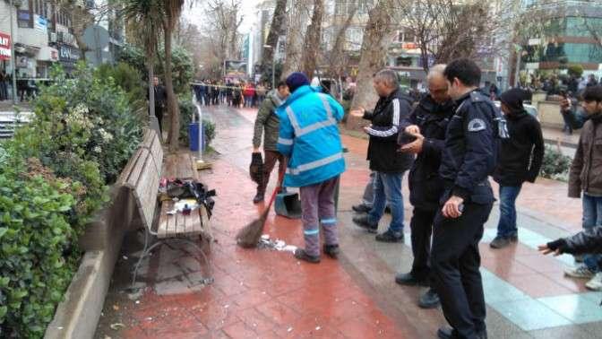 Fevziye Camii'de bomba paniği