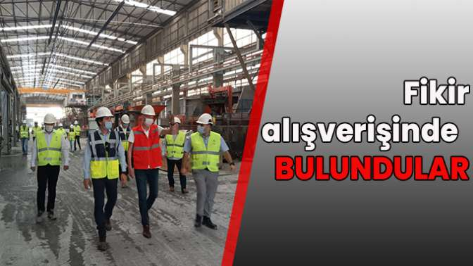 İzmit Belediyesinden, İstanbul Büyükşehir Belediyesi İSTON'a işbirliği ziyareti