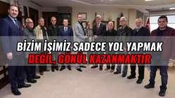 Başkan Karaosmanoğlu mahalle temsilcilerini ağırladı.
