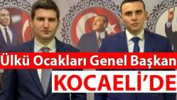 Başkan Kocael'de!