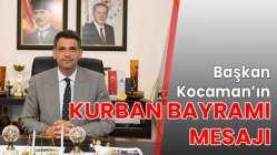 Başkan Kocaman'ın Kurban Bayramı mesajı