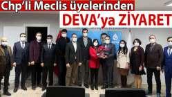 CHP meclis üyelerinden DEVA'ya ziyaret