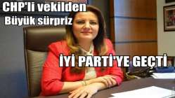 CHP'li Hürriyet, parti değiştirdi