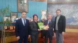 Hande TOPRAK BENLİ' ye Fındık Projesini Anlattı