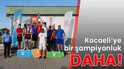 Kocaeli'ye bir şampiyonluk daha!