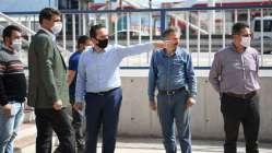 Kocaman, Ankara Caddesi'ni yerinde inceledi