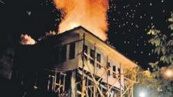 Safranbolu'da tarih yandı