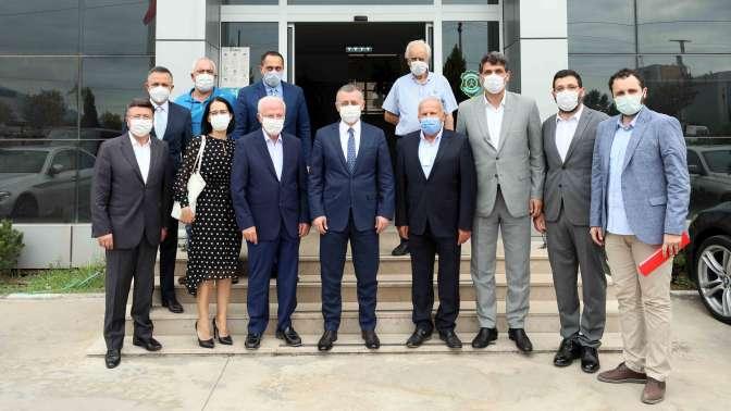 Başkan Büyükakın, ''Yeni yatırım için en sağlam ve hazır ülke Türkiye'dir'