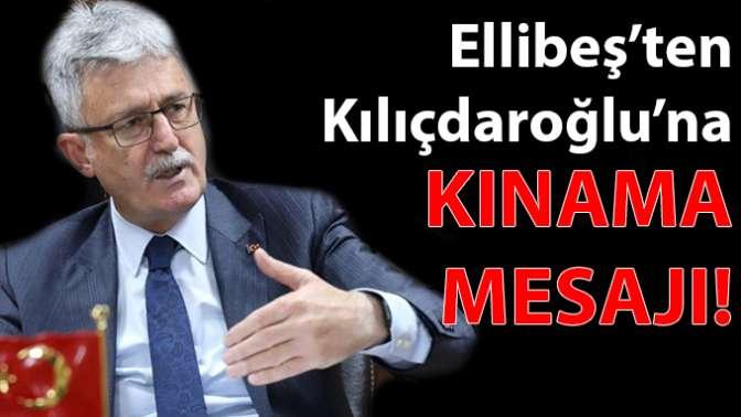 Ellibeş'ten Kılıçdaroğlu'na kınama mesajı